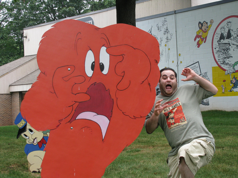 Jesse scared with Gossamer.